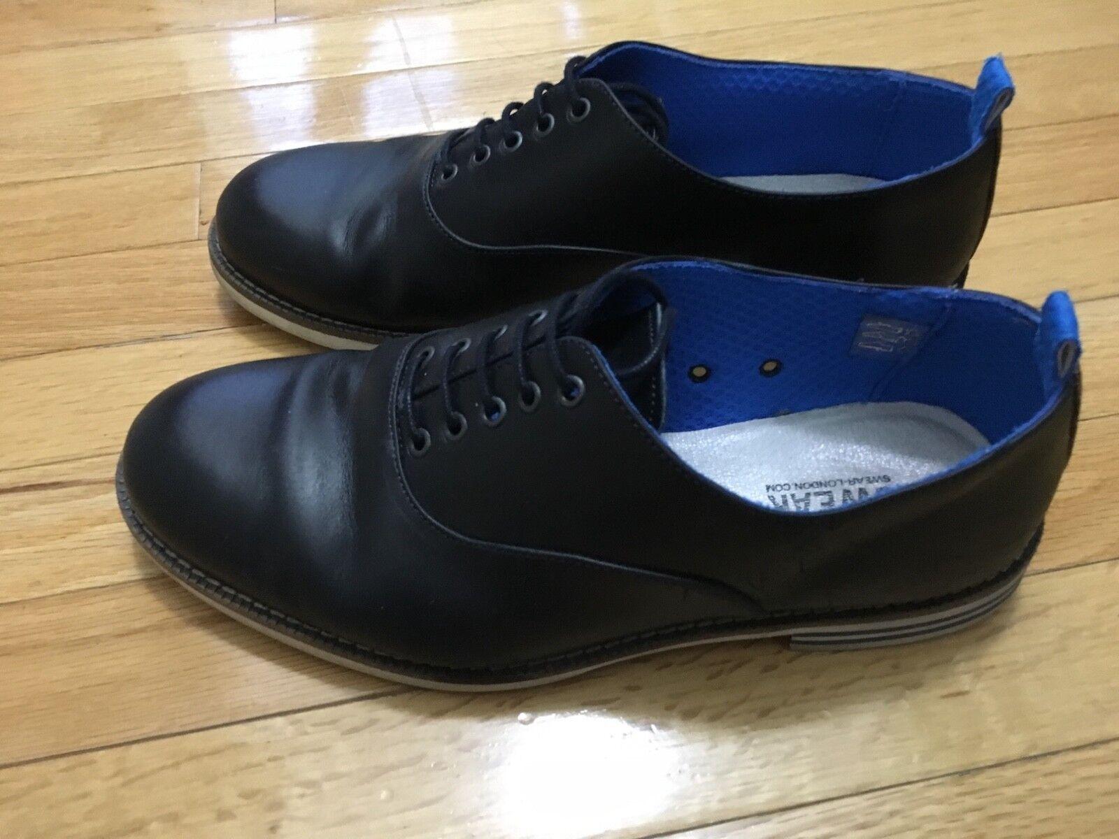 Swear London Chaplin 12 Zapatos de hombre Talla EE. UU. 12 Reino Unido 45 pre propiedad Buen Estado