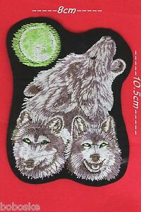 Patch Trois Loups Ou à Coller Au Fer
