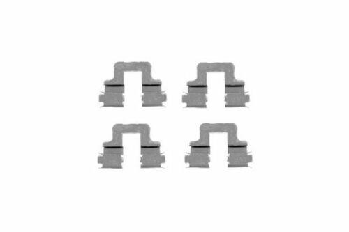 Zubehörsatz Scheibenbremsbelag Scheibenbremse Hinten 4628
