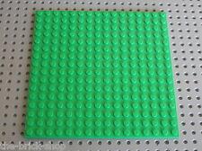 Plaque de base LEGO Friends BtGreen Baseplate 16x16 ref 91405 / 3942 3189 3065..