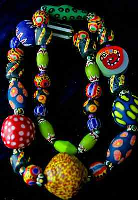 INEXPRESSIBLE JOY -  BEADS FROM ALL OF THE WORLD NECKLACE
