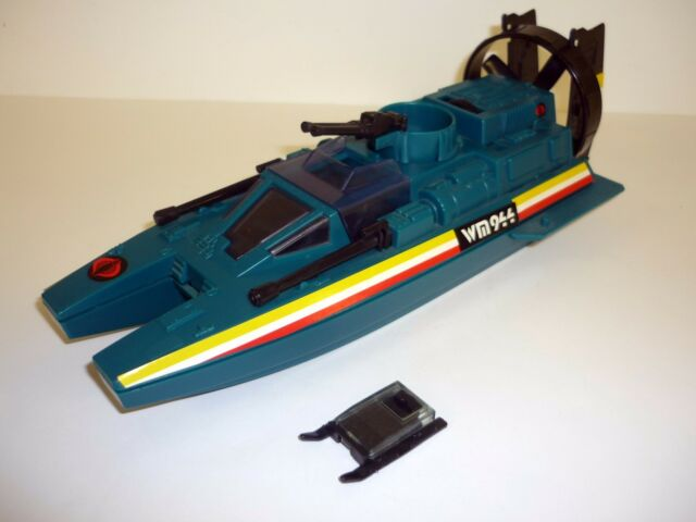 ACTION FORCE WATER MOCCASIN Vintage GI Joe Figure Vehicle EURO / COMPLETE 1984