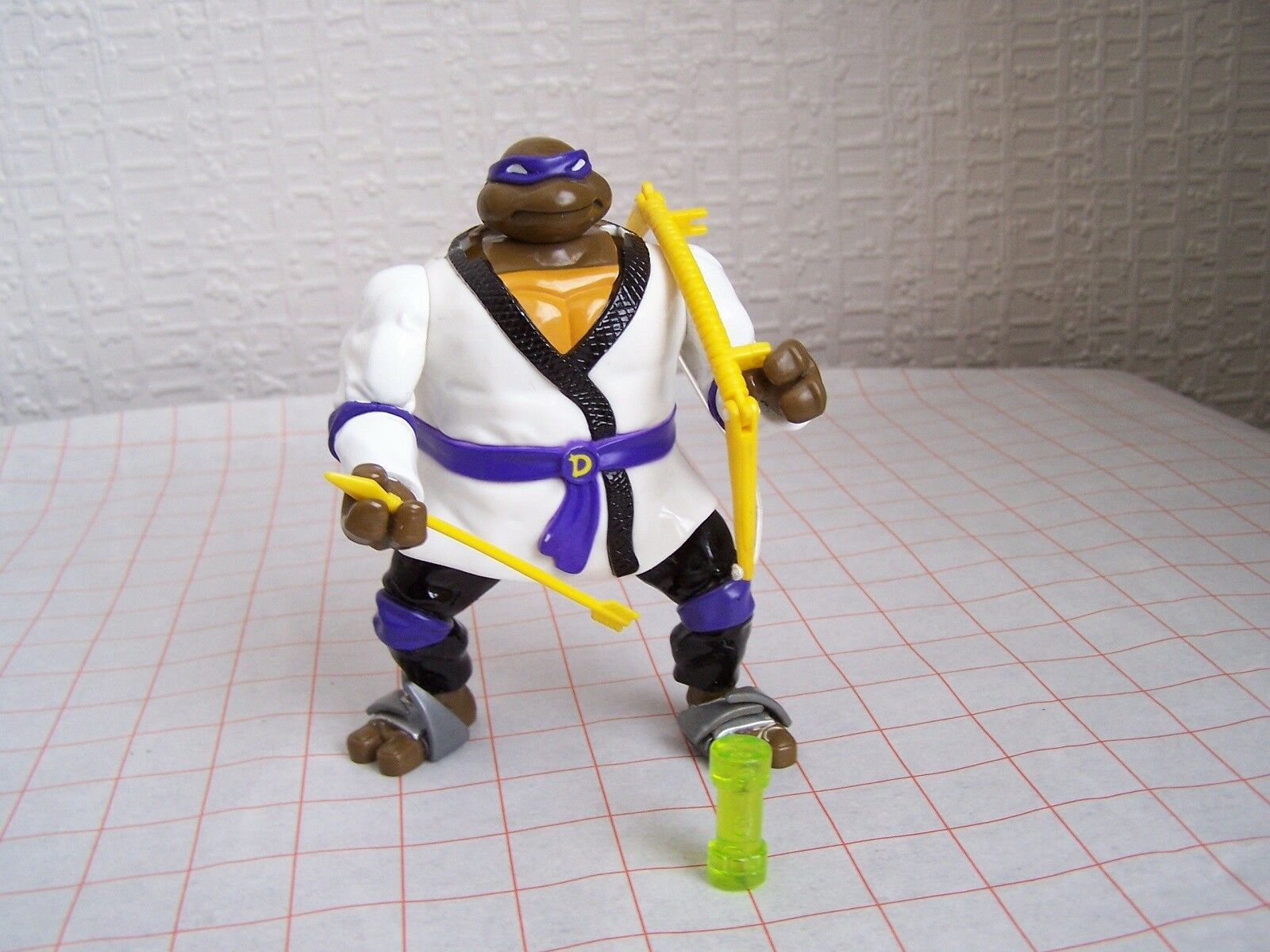 Teenage Mutant Ninja Turtles Toy  Auto Mutations Night Ninja Don (OOP, 1993)