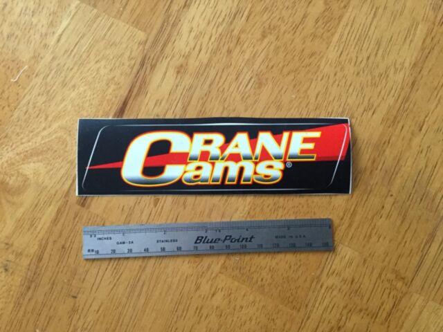 Crane Cams Vinyl Decal Sticker Vintage Racing Window Decal Car Sticker
