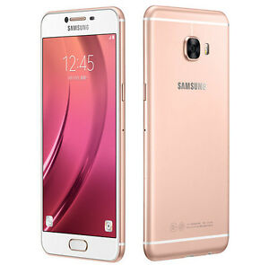 """Trade In Cell Phone >> Samsung Galaxy C7 C7000 Pink Gold 5.7"""" 16MP 32GB 4GB RAM ..."""