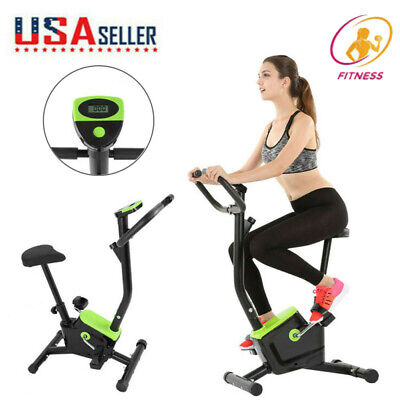 Details about  /Stationary Exercise Bike Pro Bicycle Trainer Fitness Cardio Cycling Training Gym