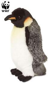 WWF-Plueschtier-Kaiserpinguin-20cm-Lebensecht-Stofftier-Kuscheltier-Pinguin-NEU