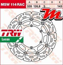 Disque de frein Avant TRW MSW 114 RAC KTM LC4 690 SM, SMC, SM-LE KTM LC-4 2007-