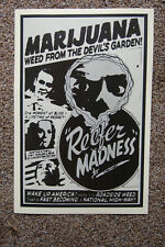 "16x24 1950/'s /""Reefer Madness/"" Vintage Style Classic Marihuana Poster"