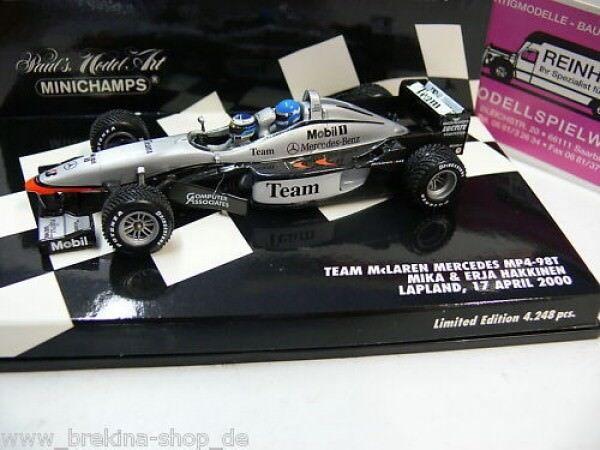 1 43 Minichamps McLaren MB MP4-98T M.& E. Hakkinen 2000 2000 2000 530984378 686f4d