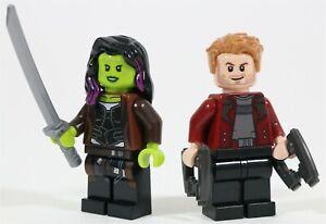 GENUINE-LEGO-AVENGERS-STAR-LORD-amp-GAMORA-MINIFIGURES-76107-MARVEL-GUARDIANS