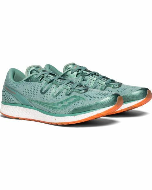 Saucony Freedom ISO Running shoes, Men`s Size 12.5 (D), Green, NYC edition, NEW
