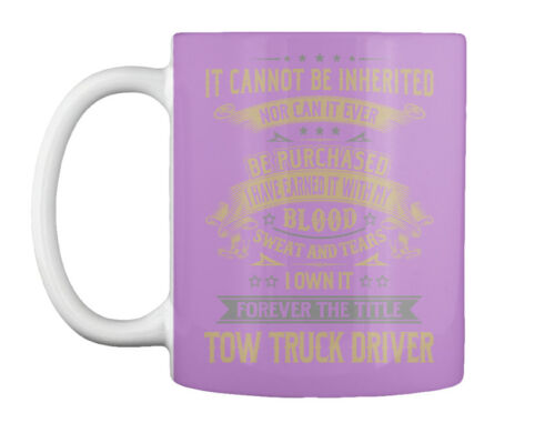 Tow Truck Driver My Blood Gift Coffee Mug