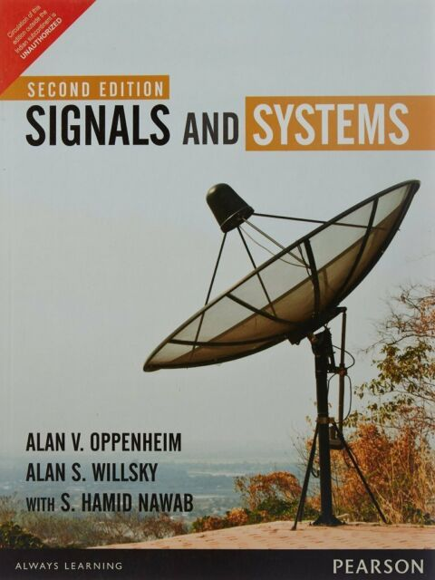 Signals And Systems By S Hamid Nawad Alan V Oppenheim And Alan S Willsky 1996 Hardcover Revised