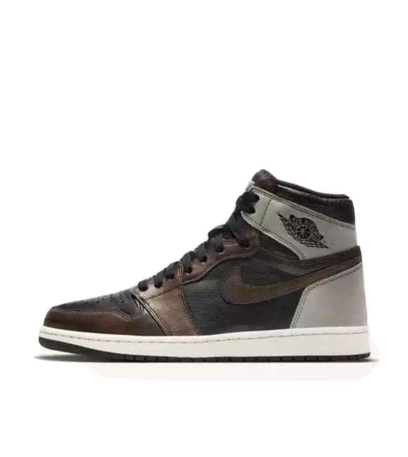 Jordan 1 Retro High Rust Shadow UK 7 - Brand New In Box With Invoice