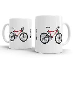 Bike Ninja MTB Retro Classics Cannondale Raven Mug
