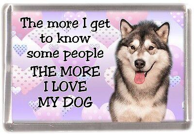 """Border Terrier Dog Fridge Magnet  /""""For the Best Seat ....../"""" by Starprint"""