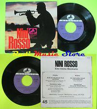 LP 45 7'' NINI ROSSO Eine kleine weinkarte Gruss mir das blonde kind cd mc dvd