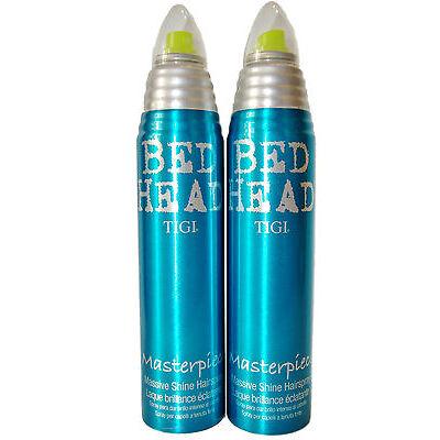 2 x 340 ml TIGI Bed Head Masterpiece Mega Glanz - Haarspray