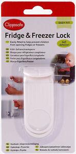Clippasafe FRIDGE LOCK/LATCH Kitchen Child/kids/Bab<wbr/>y Proofing Home Safety BN