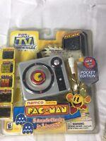 Sealed 2004 Namco Pac-man 5 In 1 Plug And Play Tv Game Jakks Pocket Edition