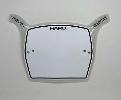 bmx haro STYLE number plate