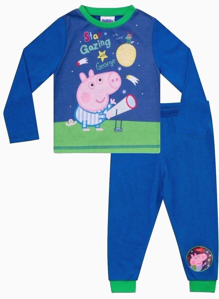 Candide Star Gazing George Cochon Pyjama 1 To 5 Ans George Pig Pyjamas Peppa Pyjama W17 Produits De Qualité Selon La Qualité