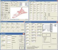 USB CNC Controller + CNC Software Paket für CNC Steuerung, OHNE Gehäuse