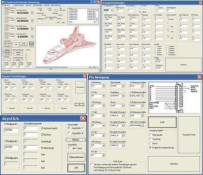 CNC-Software für  Portalfräse, Fräsmaschine