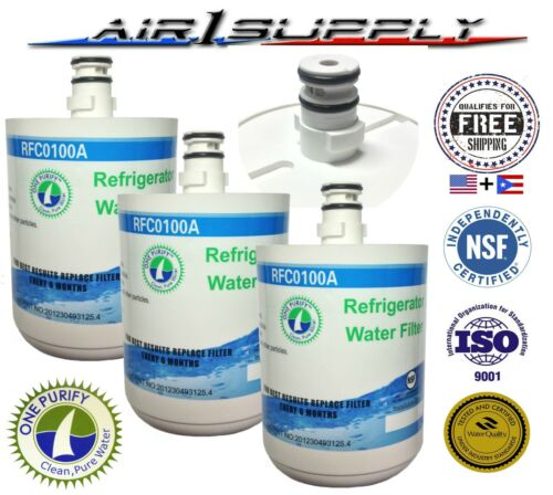 Water Filter 3 Kenmore Premium Sub for LG GEN11042FR-08 Pack GEN11042F-08