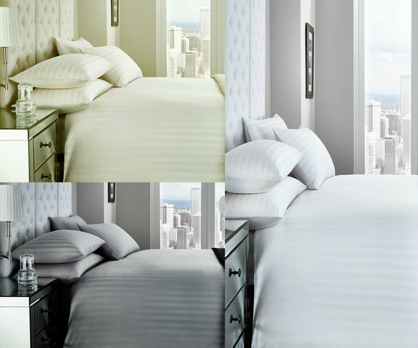 Torino 200 Thread Count Duvet Set choice of colours