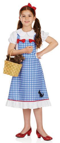 Dorothy Ragazze Costume Libro mondo fiabesco giorno settimana per Bambini Costume