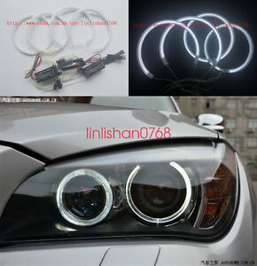 4pcs-Excellent-CCFL-7000K-Angel-Eyes-kit-For-BMW-X1-E84-Non-projector-2010-2011