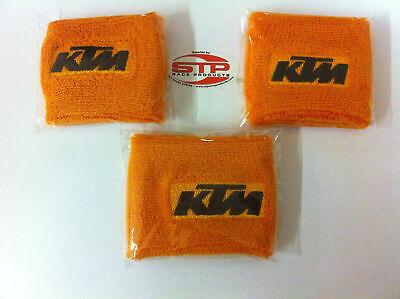 3er Set Motorrad Kupplung Front/hinterer Bremszylinder Abdeckung Socken Orange & Bestellungen Sind Willkommen.