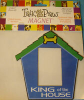 1 Pc King Of The House Magnet Frame Doghouse Westrim Crafts 4 7/8 X 4 7/8