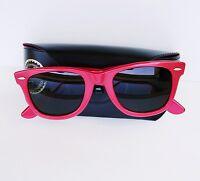 Vintage Bausch & Lomb B&L Ray Ban USA Wayfarer 5022 Red Sunglasses w/ Case
