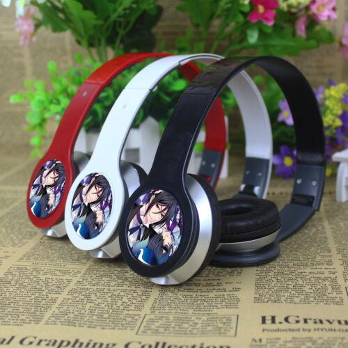 8Anime Black Butler stereo bass headset earphone headband headphone PC MP3 Phone