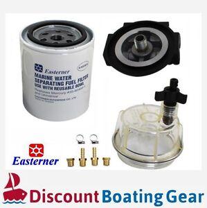 FUEL FILTER WATER SEPARATOR KIT Outboard//Inboard//Boat Motor Mercury Style