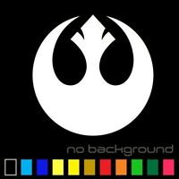 REBEL Alliance Sticker Vinyl Decal Star Wars - Car Window Wall Decor