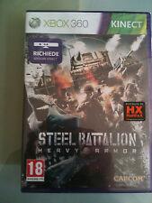 STEEL BATTALION HEAVY ARMOR RICHIEDE KINECT XBOX 360 nuovo ITA