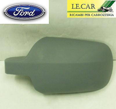 Ford Fusion dal 08.2003/>07.2005 Calotta Dx Nero per Specchietto Retrovisore