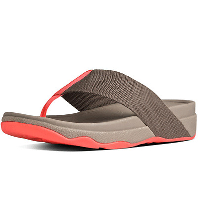 NEW FitFlop Women's Surfa Flip Flop, Mink, US 10, UK 8, EUR 42