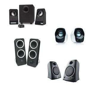 CASSE-LOGITECH-USB-2-0-Z120-Z130-Z200-Z213-2-1-SUBWOOFER-Speaker-nero-bianco