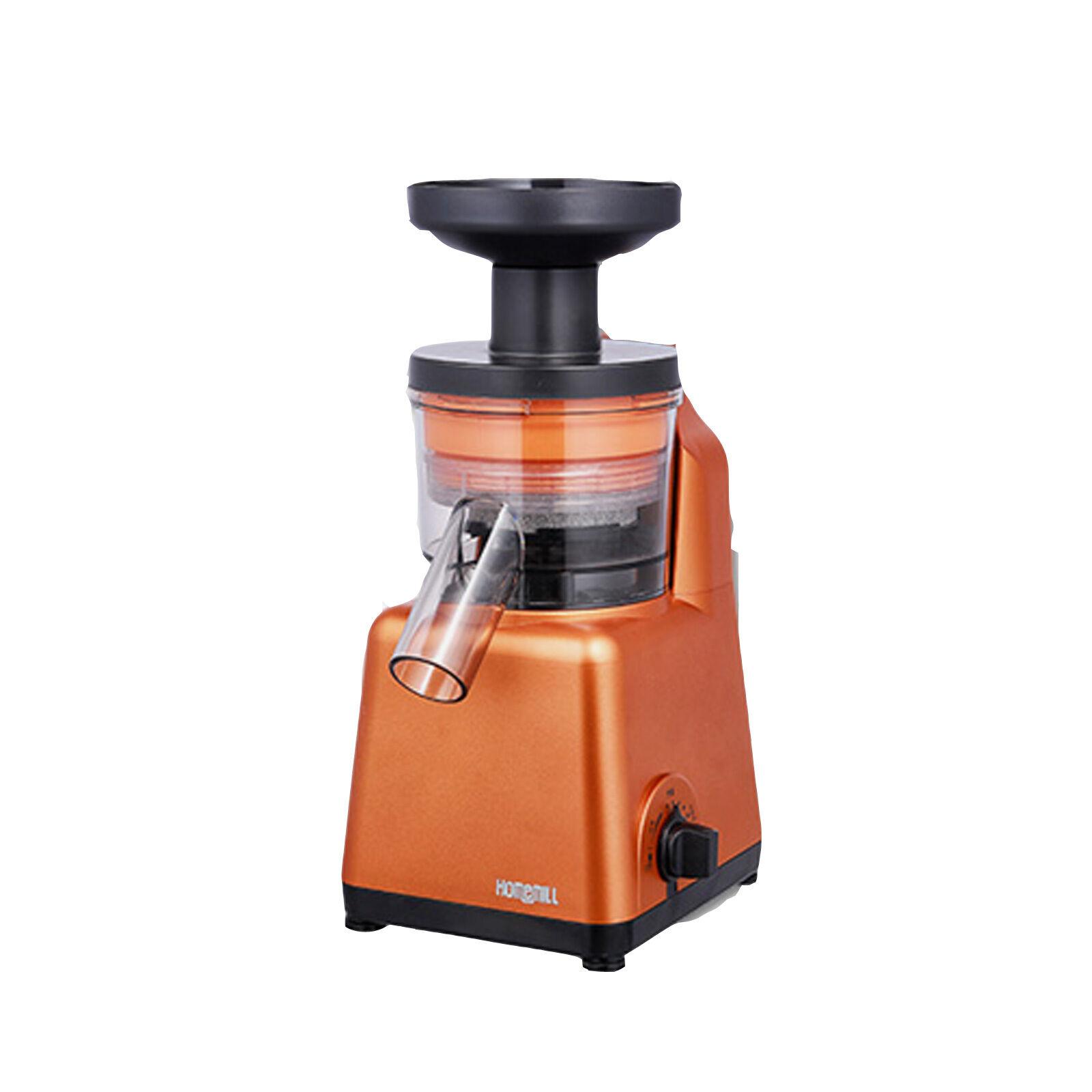 Homemill BS-1000 Elextric Mixer Extractor Juicer Crusher 220V Orange 2016 Ver.