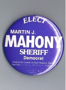 Details about Martin Mahony Lorain County Sheriff Ohio Political Campaign  2 25