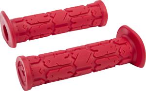 New ODI Rouge handlebar grip set RED Yamaha Warrior 350 YFM350X atv