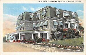 Image Is Loading A36 Shenandoah Caverns Virginia Va Postcard Inn Hotel