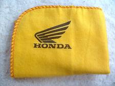 Motos honda: nuevos grandes Paño Limpiador Plumero de alta calidad con el logotipo de la calcomanía.