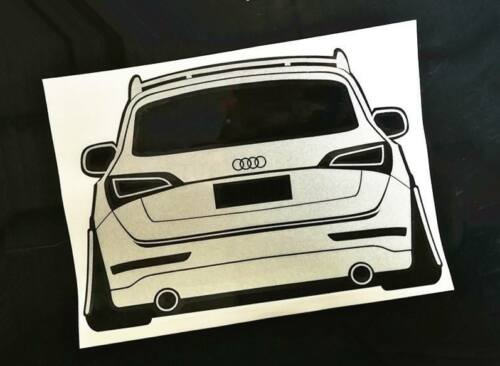 Decal Coilover Lowering Camber Style Audi Q5 RSQ5 Sticker
