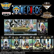 ONE PIECE WCF World Collectable Figure Party 6Figures + Tablel Complete set